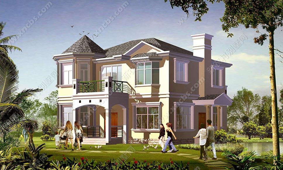 两间二层楼房设计图_农村二层楼房设计图 三层乡村别墅设计多个方案_新农村别墅网