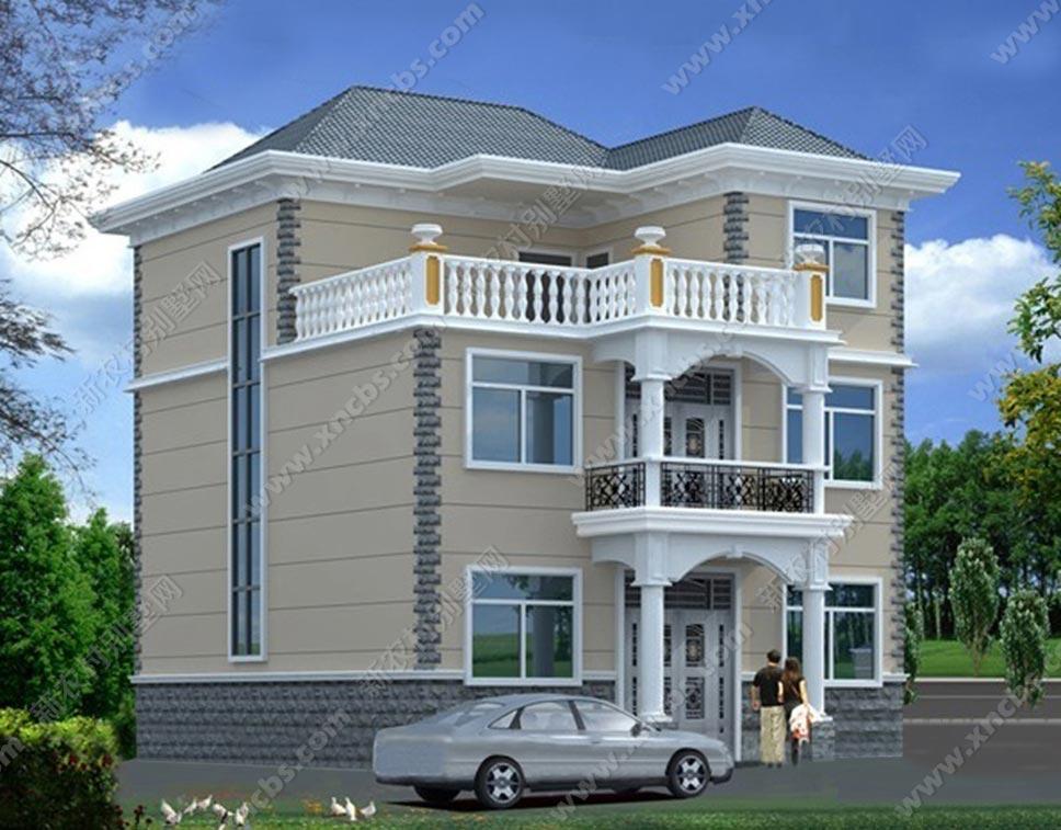 农村三层楼房整套设计施工图