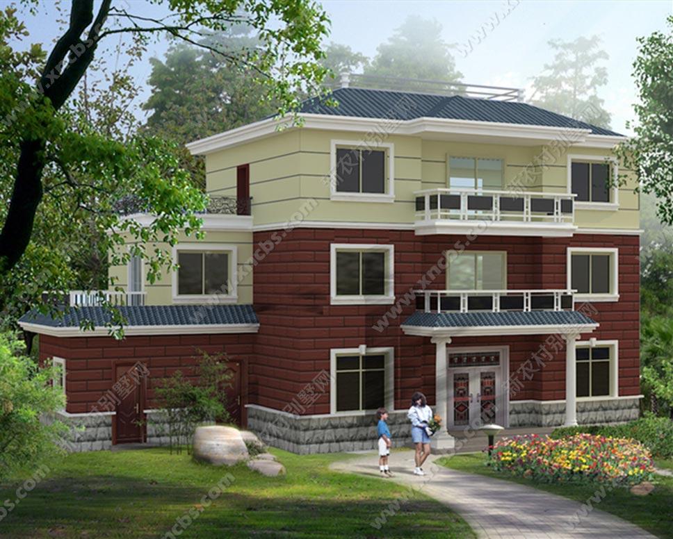 地皮为长方形的农村房屋设计图全套图纸方案图片