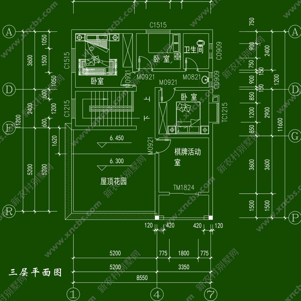 乡下自建l型独栋楼房设计图及效果图_新农村别墅网
