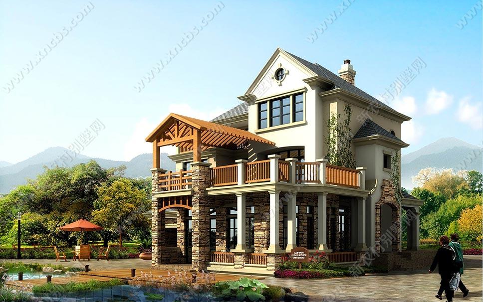 欧美造型别墅图 小洋楼建设户型图