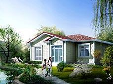 单层房屋设计图