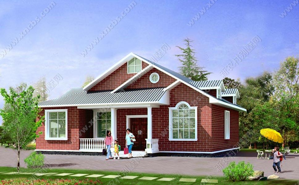 一层别墅设计图