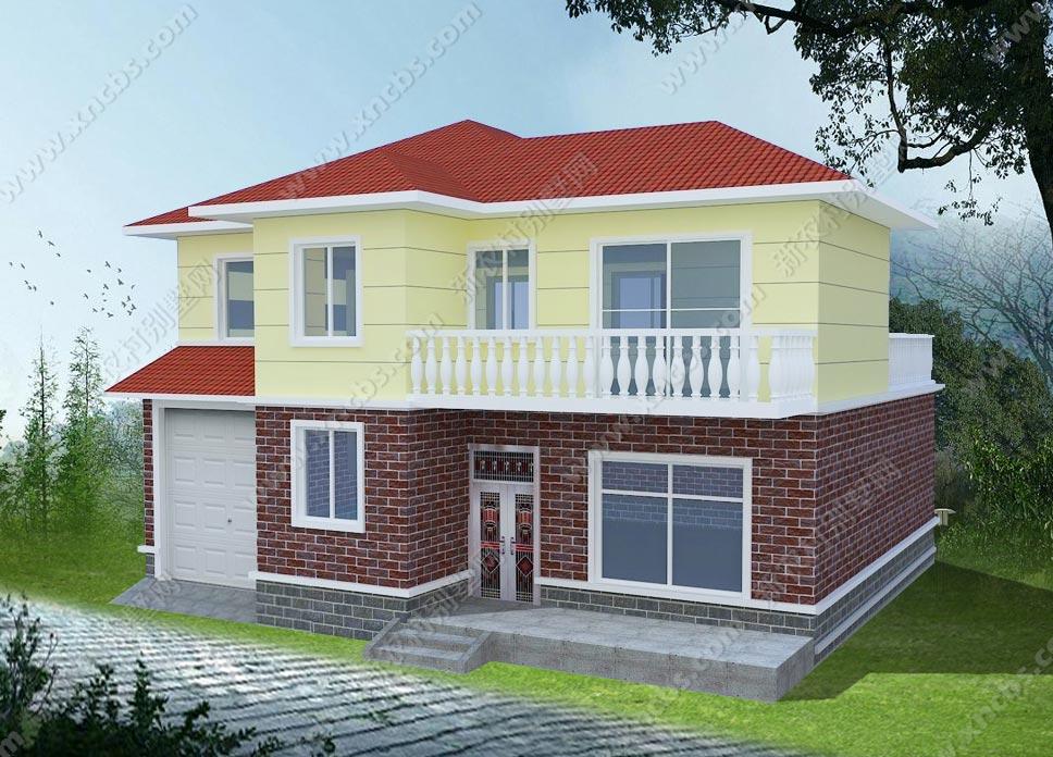 两层小别墅