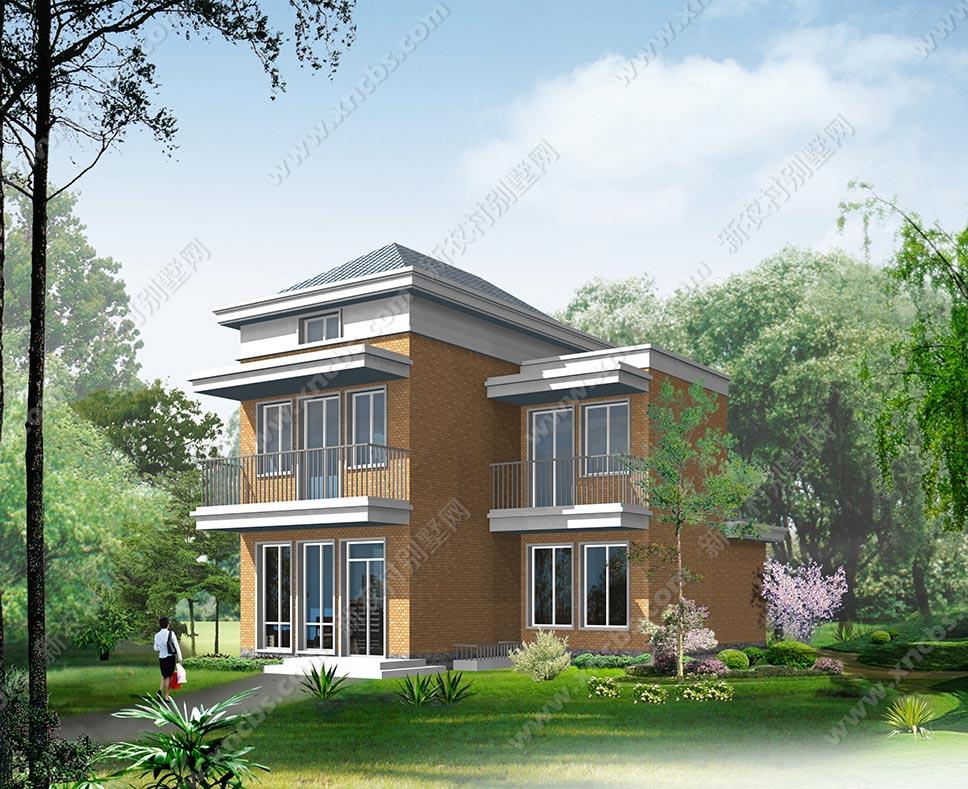 农村两层房屋设计图