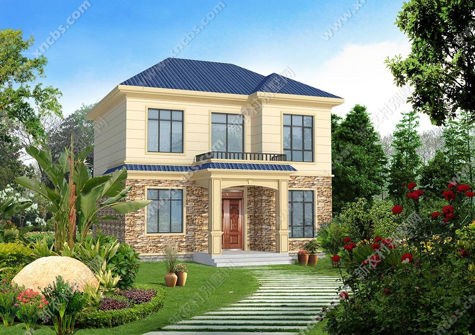 2层小别墅