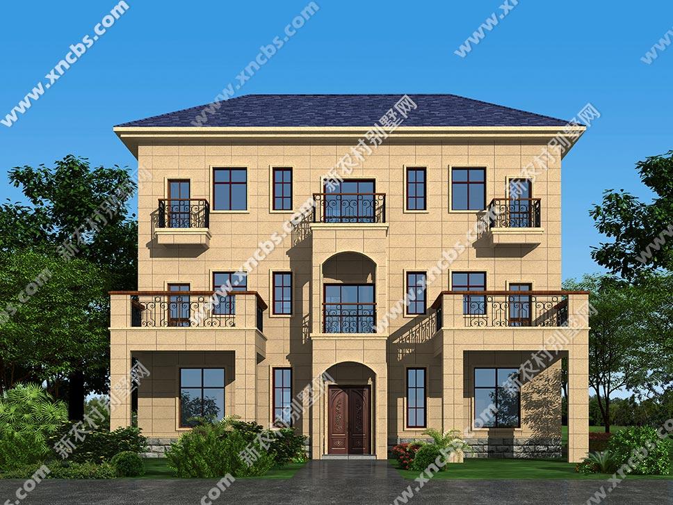 三层楼房设计图