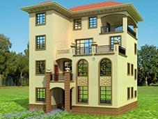 四层别墅效果图