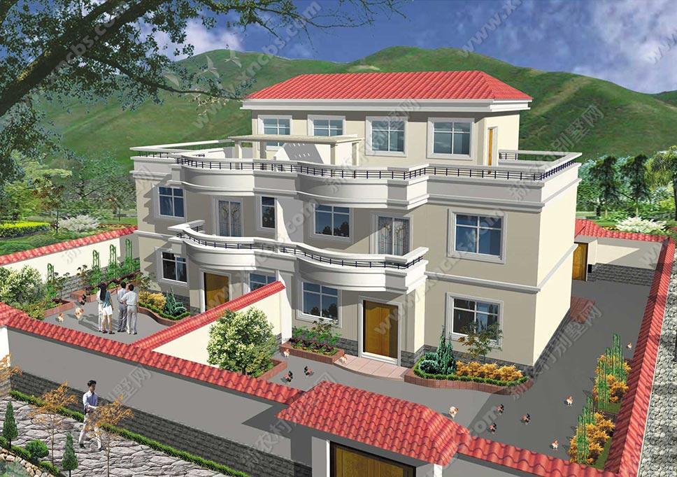 连体房屋设计