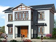 二层房屋效果图