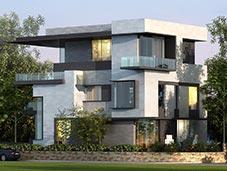 现代建筑图